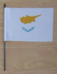 Cyprus Country Hand Flag - Medium.